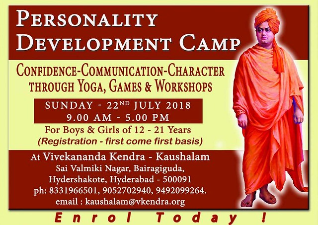 Personality Development Camp At Hyderabad