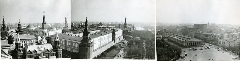 Вид из гостиницы Москва 1980-е