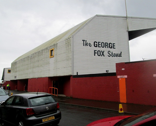 The George Fox Stand, Tannadice Park, Dundee