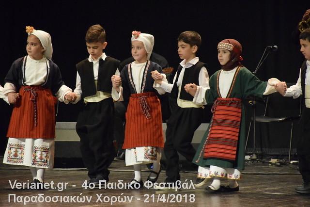 Βέροια: 4ο Παιδικό Φεστιβάλ Παραδοσιακών Χορών 21/4/2018 μέρος 3ο
