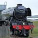 The Flying Scotsman leaving Heywood