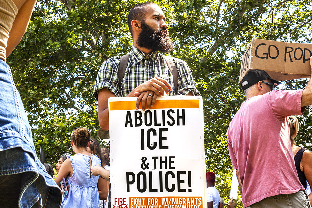 ABOLISH ICE n THE POLICE--Logan Circle