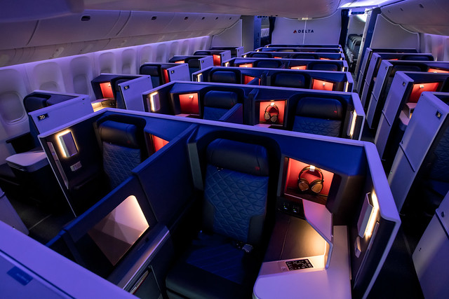 Delta's 777 Cabin Refresh