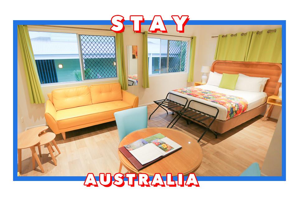 port douglas motel queenie go. Black Bedroom Furniture Sets. Home Design Ideas