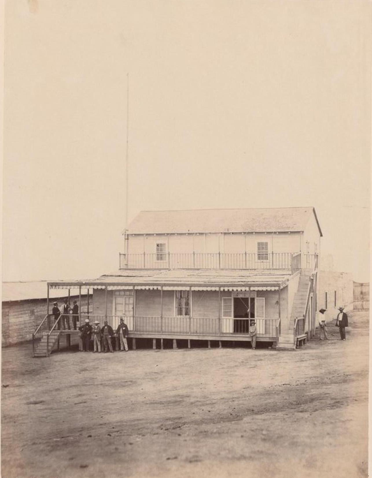 Острова Чинча. Дом губернатора