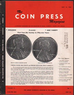 The Coin Press 5-12-60 - cover