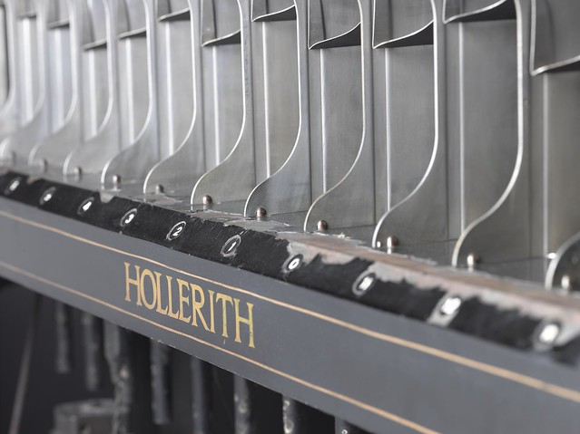 Hollerith sorting machine