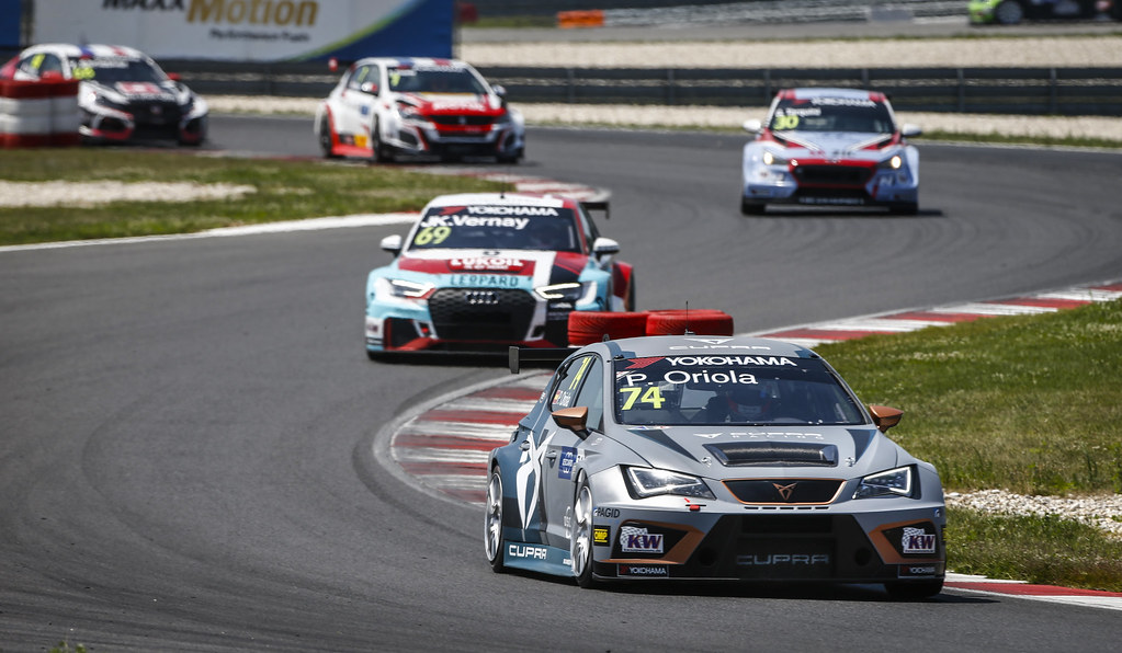 Start race 1 during the 2018 FIA WTCR World Touring Car cup race of Slovakia at Slovakia Ring, from july 13 to 15 - Photo François Flamand / DPPI.
