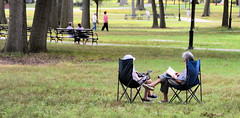 What! no Cellphone/ Ebook...refreshing....Bowne Park,..Queens.