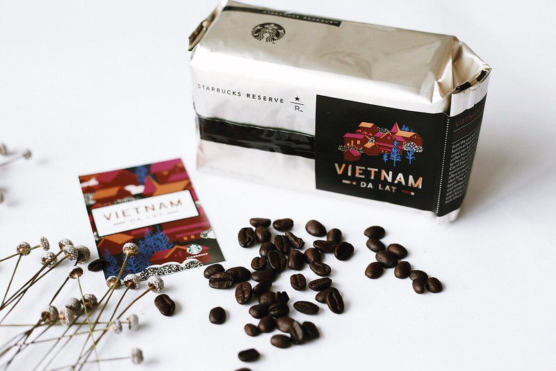 Single origin coffee Cau Dat Viet Nam