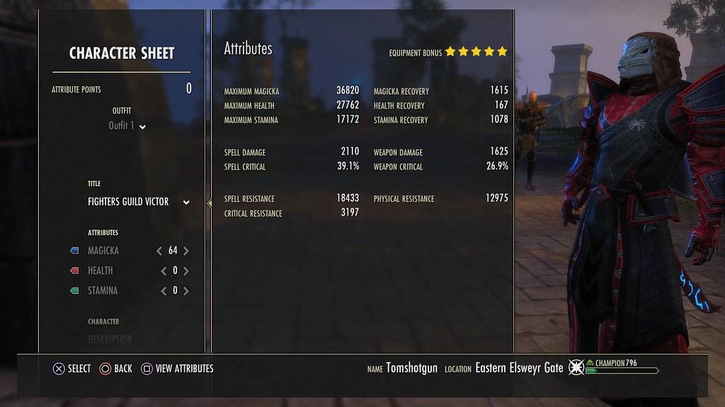 mag templar pvp help for damage/set — Elder Scrolls Online
