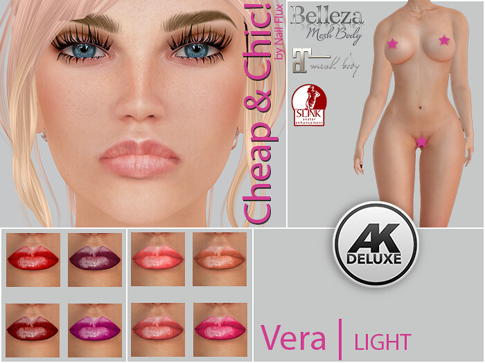 Cheap & Chic! Vera-LIGHT Skin applier for [AK Deluxe] - TeleportHub.com Live!
