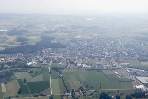 Hochdorf Seetal Luzern Switzerland aerial view