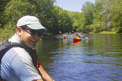 The kayaks are coming - Erik