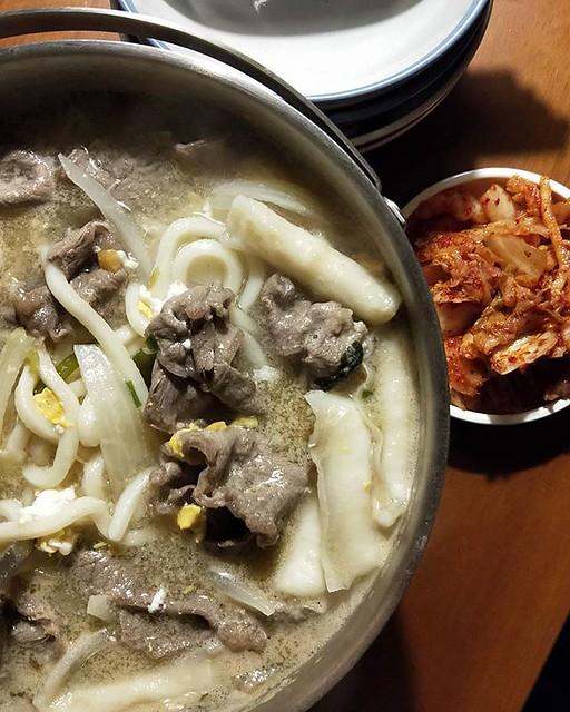20180711 收假烏龍湯麵 #葛蘿的餐桌 #颱風假