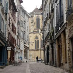 Bayonne, vue de la cathedrale