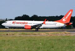 TC-MKS B737MAX8 Corendon Airlines