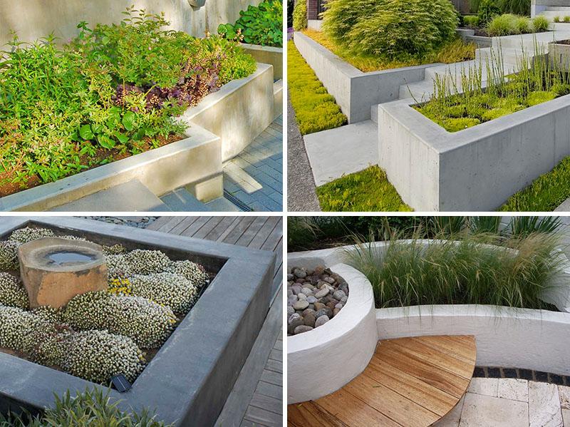 10 Contoh Desain Taman Dengan Konsep Beton Arginuring Arsitek