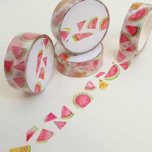 Watermelon Print Washi Tape