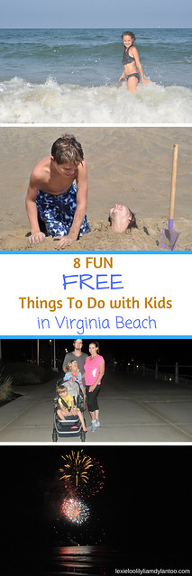 8 Fun FREE Things To Do With Kids In Virginia Beach #virginiabeach #beachvacation #travel #travelwithkids #travelblogger