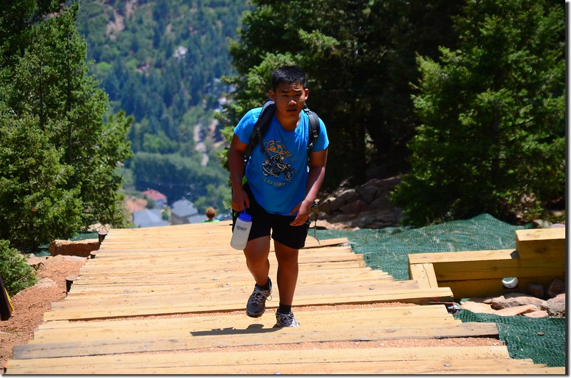 Jacob on his way up to the top of the incline (5)