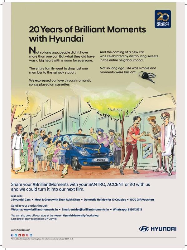 Hyundai 20 years