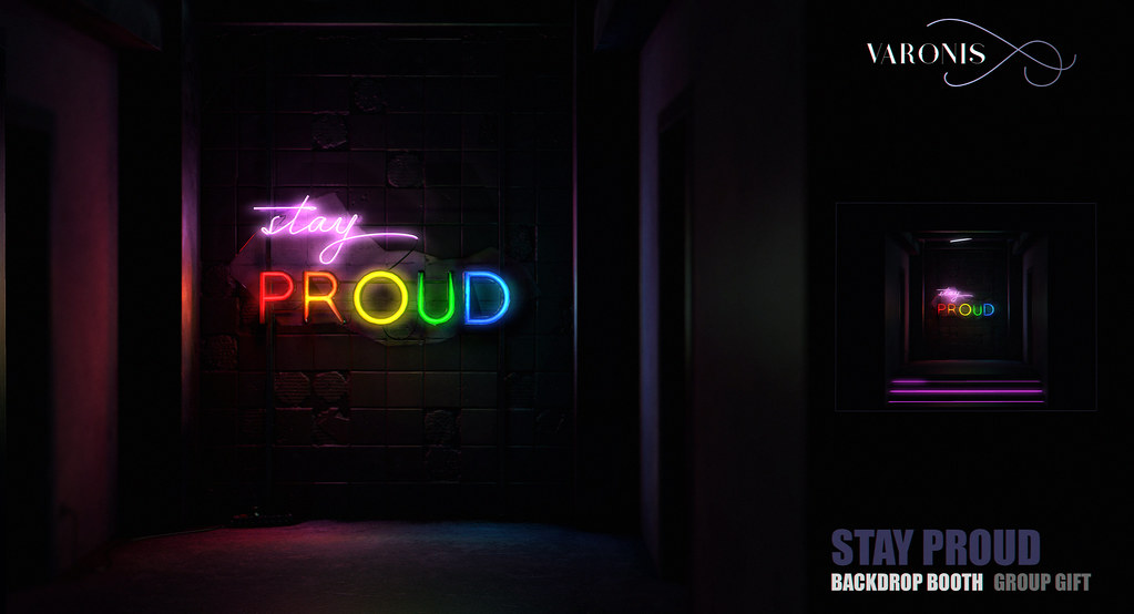 "VARONIS - ""Stay Proud""  Background Booth / Group GIFT - TeleportHub.com Live!"