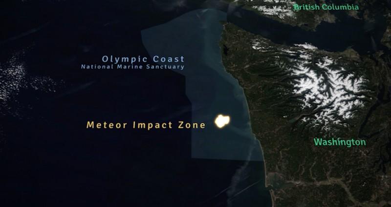 zone-de-impact-météorite-océan