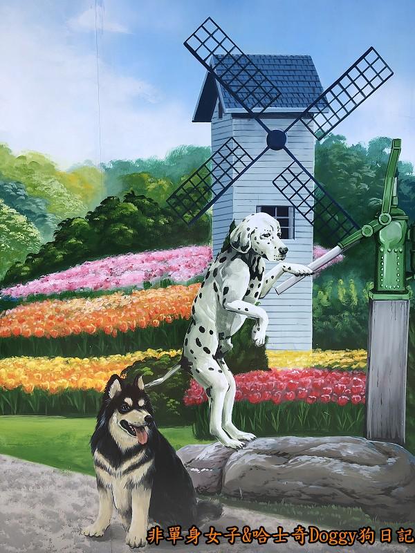 彰化一日遊15忠犬3D彩繪