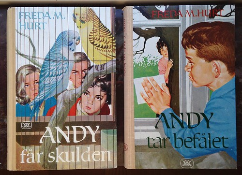 Freda M Hurt - Andy books