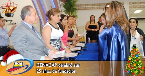 CENACAP celebró sus 25 años de fundación