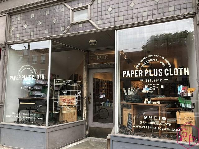 Field Trip @PaperPlusCloth in Toronto, Ontario 36
