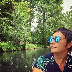Gondola trip through the Spreewald