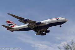 British Airways Boeing 747 G-CIVJ