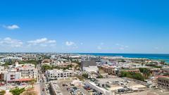 Aerial of Playa del Carmen