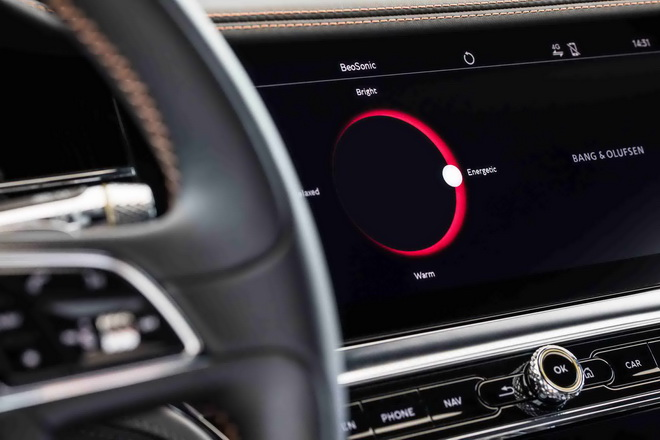 賓利汽車攜手Bang & Olufsen品牌打造首個車載BeoSonic音響系統(1)