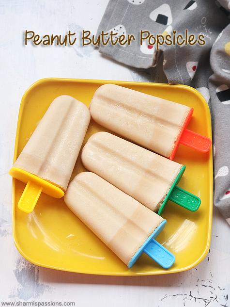 banana peanut butter popsicle recipe