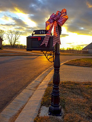 Mailbox on Christmas Eve