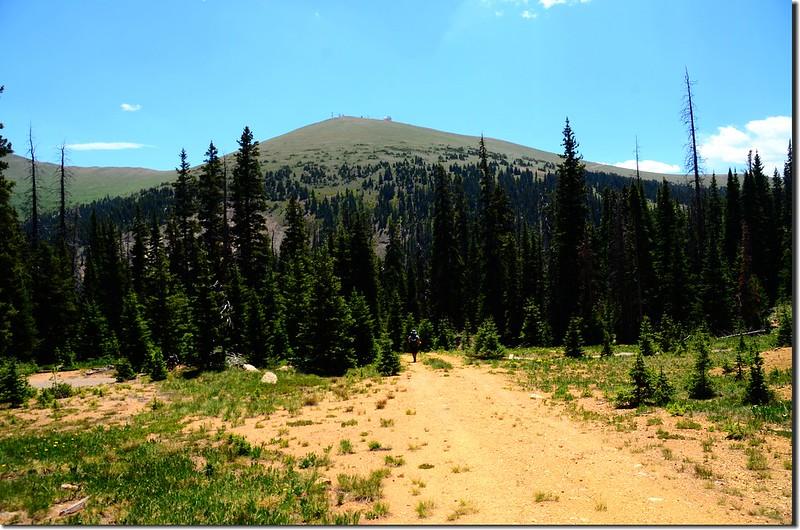 Colorado Mines Peak from Berthoud Pass Ditch Road