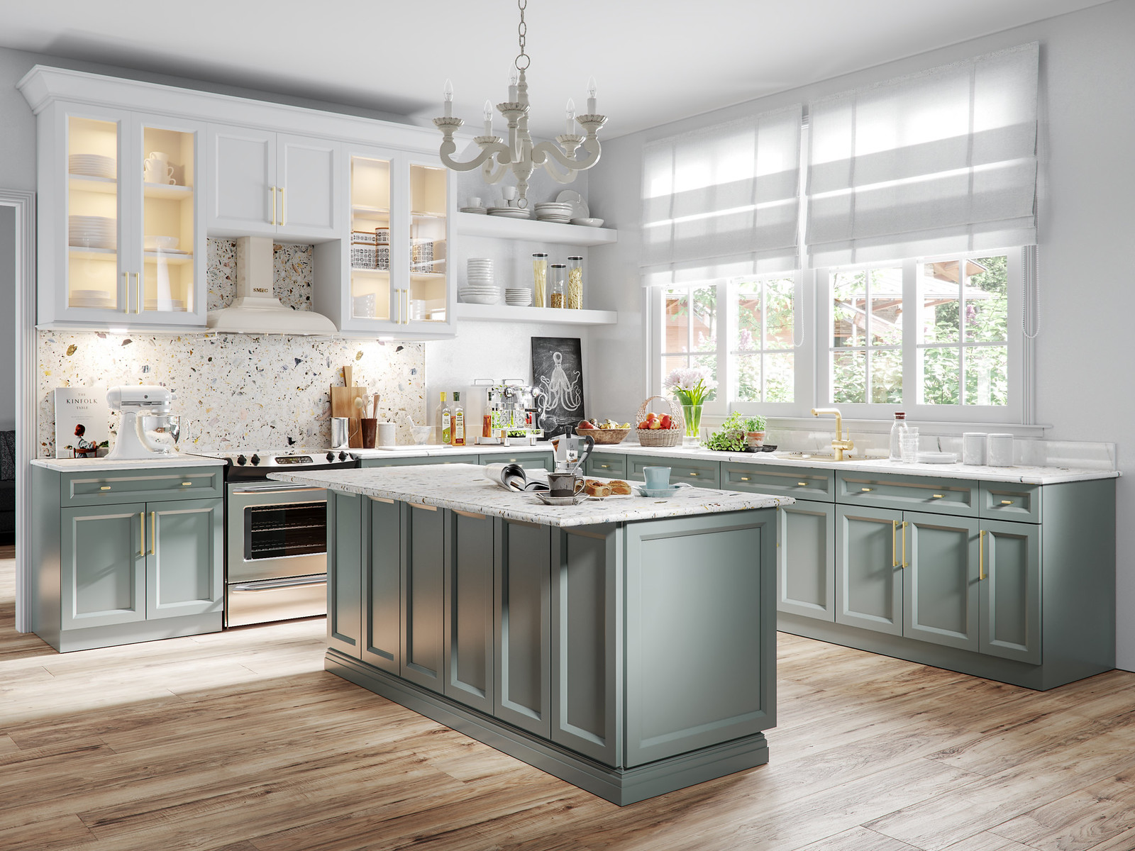 Trinity Kitchen CGI Render