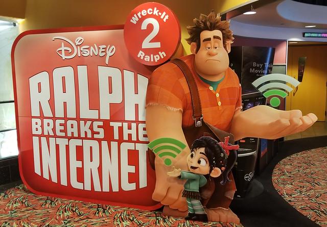 Wreck-It Ralph 2 - Ralph Breaks The Internet Movie Standee