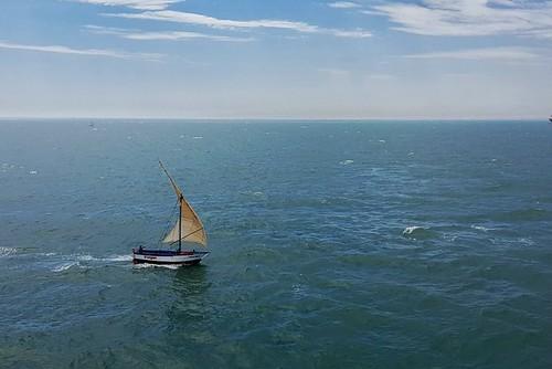 s7edge cellphone boat fisherman homewardbound bluesea bluesky talara travel sailing sail