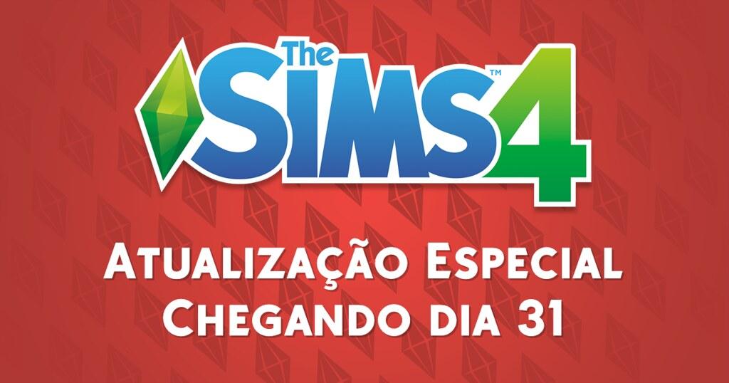 Foto de Atualização Especial Chegando ao The Sims 4 no Dia 31 de Julho