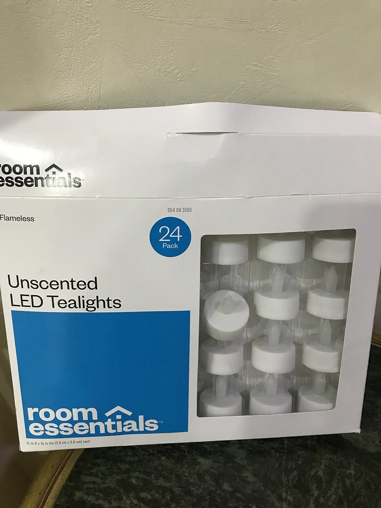 LED tealights / candles