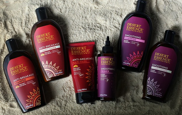 Desert Essence Hair Care Line