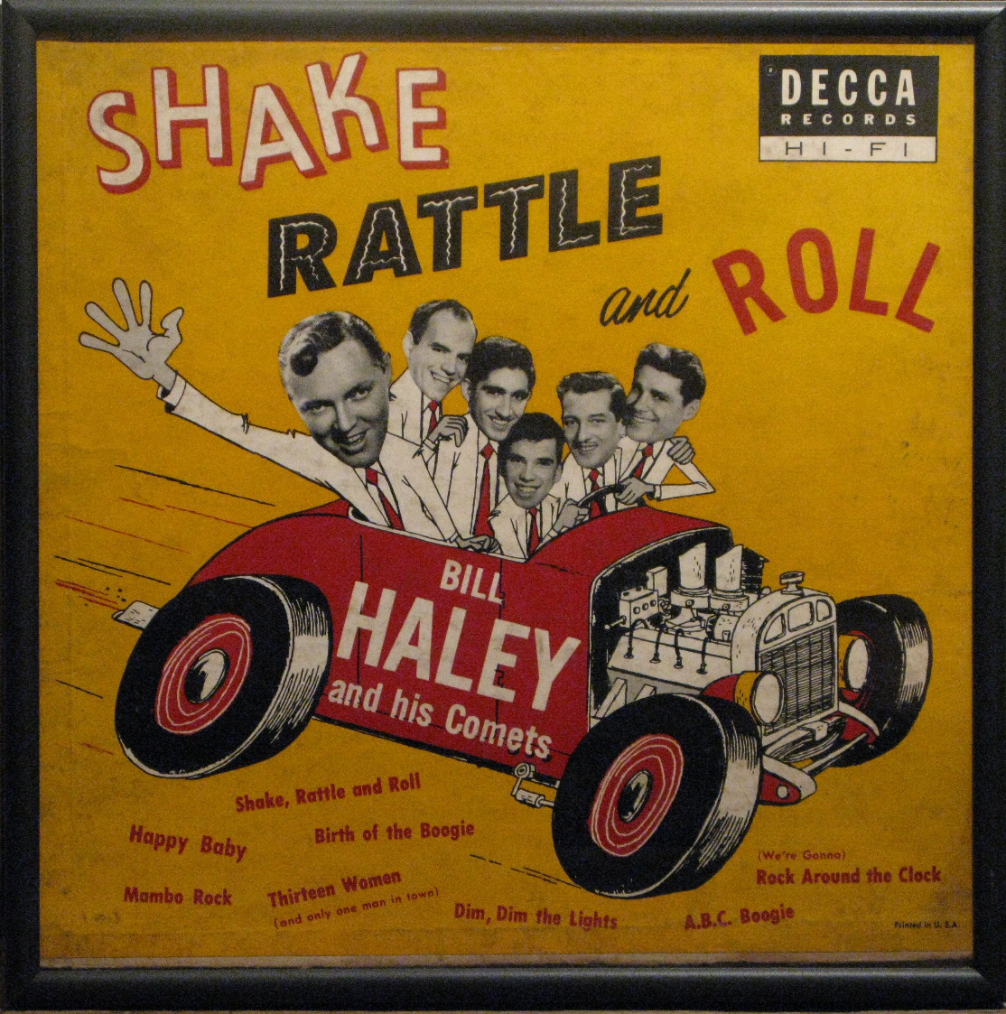 Bill Haley and His Comets - Shake, Rattle and Roll LP on Decca