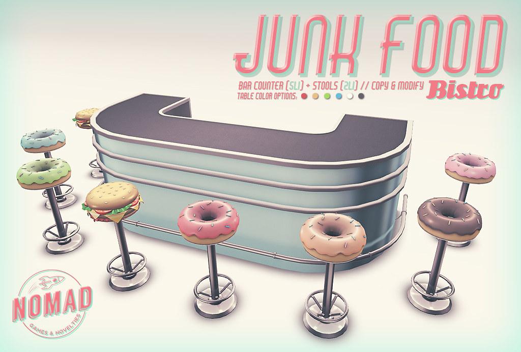 NOMAD // Junk Food Bistro