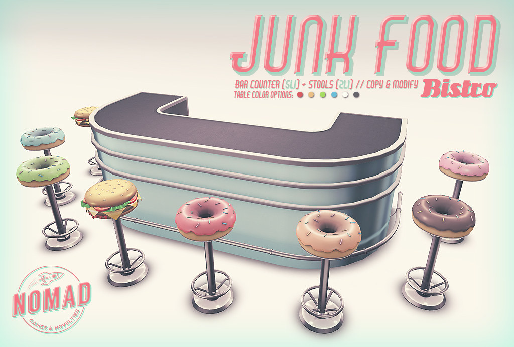 NOMAD // Junk Food Bistro - TeleportHub.com Live!