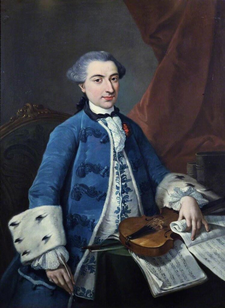 Ritratto di Gaetano Pugnani (c.1754)