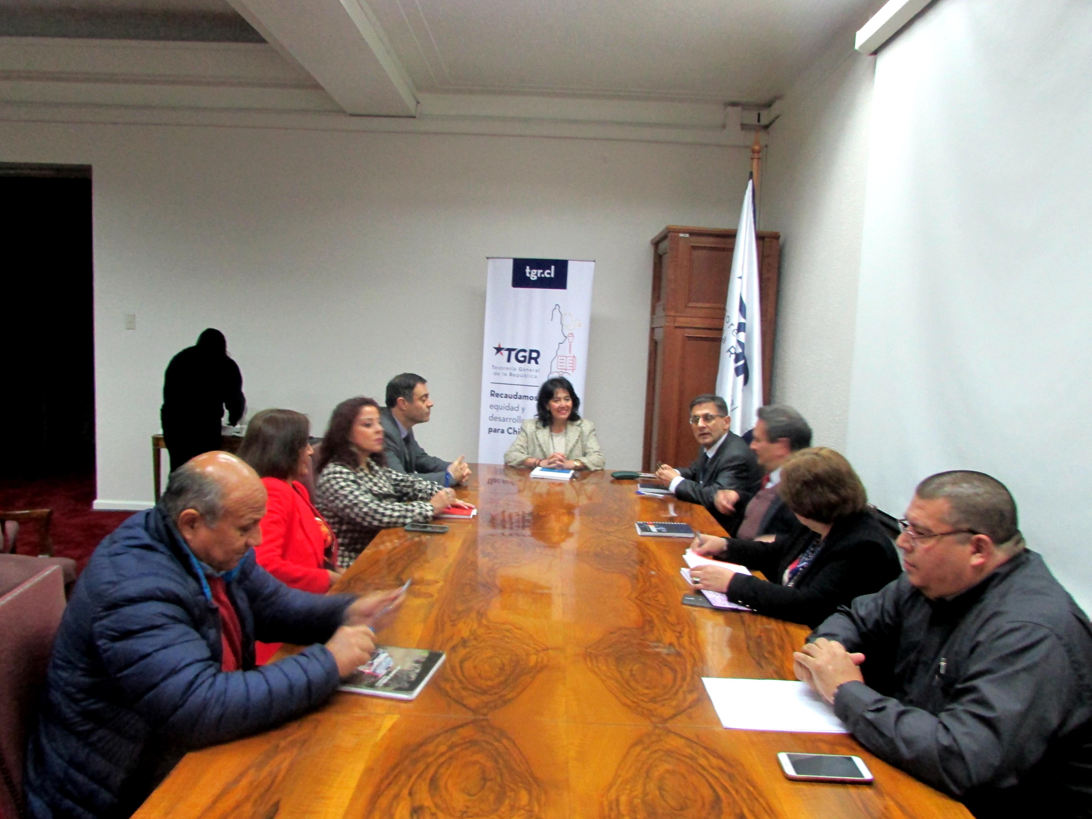 Directorio Nacional de la AET se reúne con nueva Tesorera Ximena Hernández - 10 Julio 2018